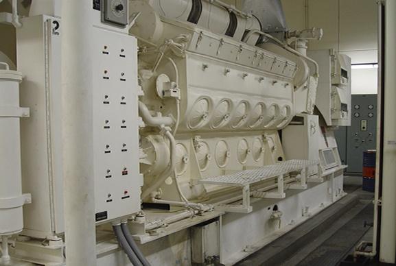 Schiffsmotoren und Stromerzeugung