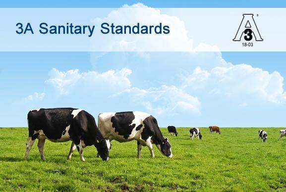 3A 18-03 Sanitärdichtungen für die Milchindustrie