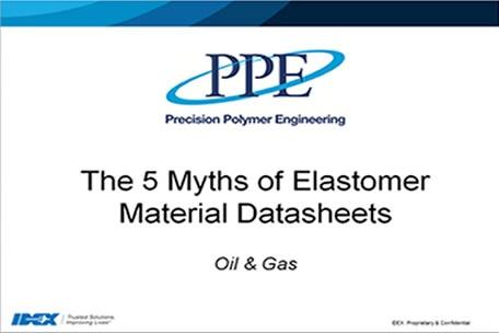 Webinar: 5Mythen zu Elastomerwerkstoff-Datenblättern
